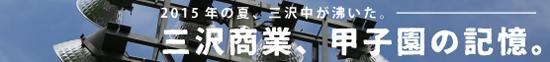 三沢商業高校甲子園の記憶