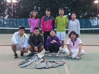 【硬式テニスサークルMTC】写真