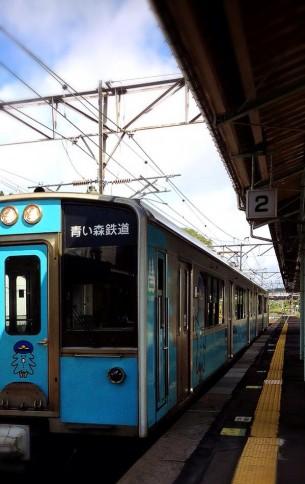 三沢市街パシャ写真『たまに電車】