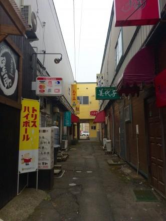 三沢市街パシャ写真『ドラマのロケ地みたいな…】