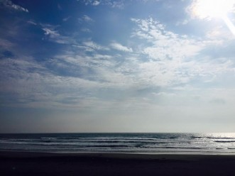 三沢市街パシャ写真『朝4時の海】
