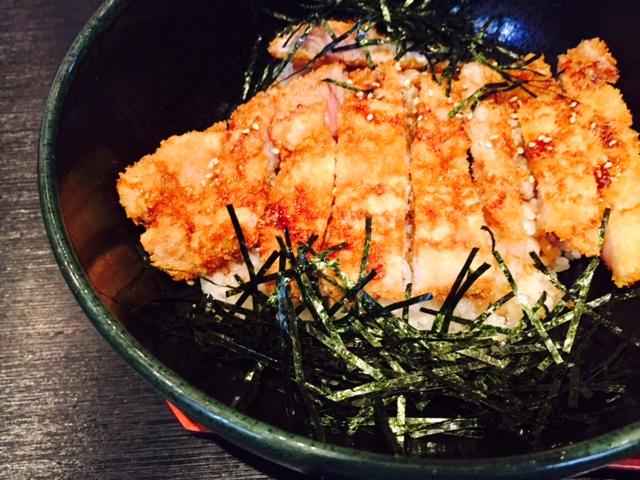 三沢市街パシャ写真『ふく田のカツ丼】