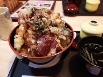 三沢市街パシャ写真『大竹の天丼】