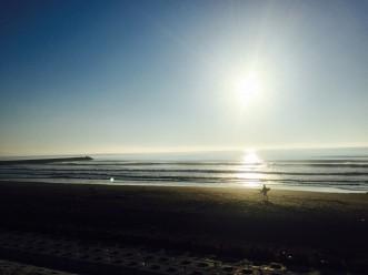 三沢市街パシャ写真『三沢の海の日の出】