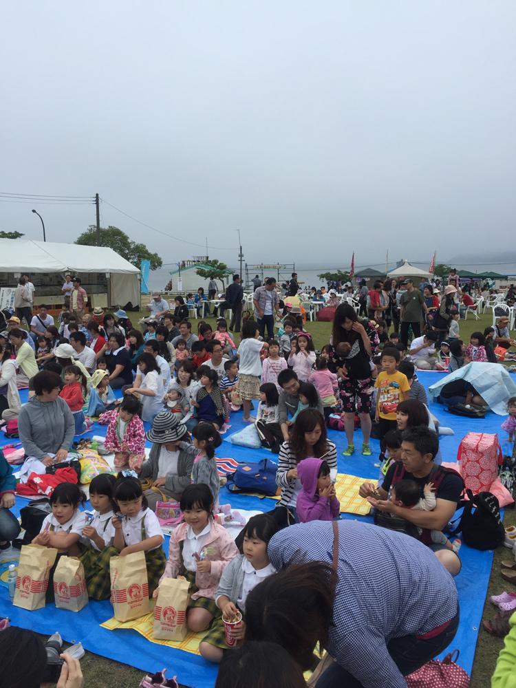 三沢市街パシャ写真『みさわ小川原湖水まつり やってるよ?】