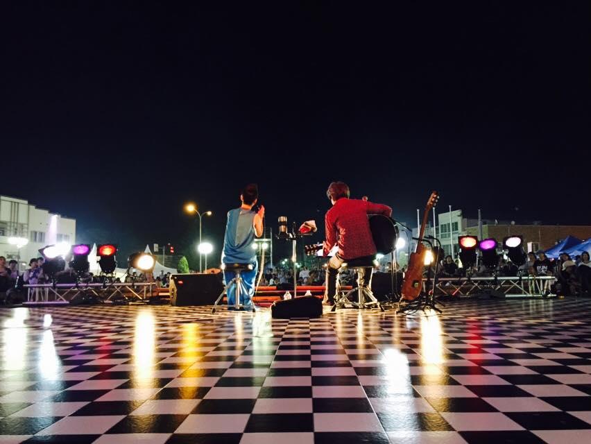 三沢市街パシャ写真『bird三沢でライブ】