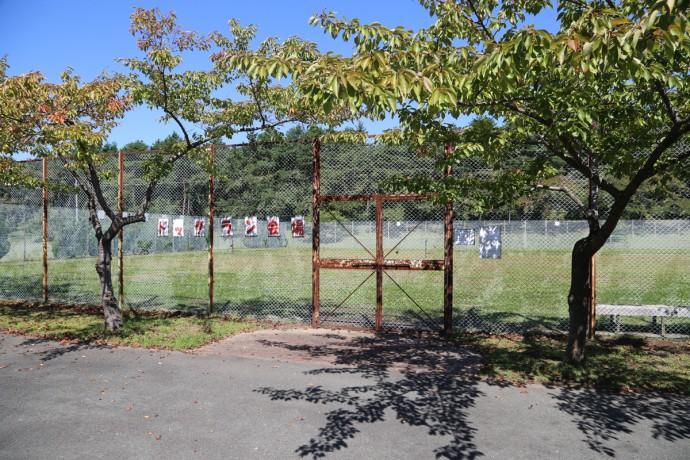 三沢市民の森運動公園 ドッグラン写真