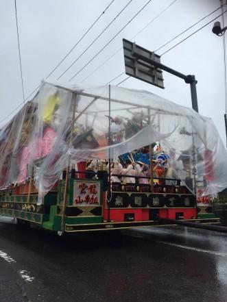 三沢市街パシャ写真『町内運行(本町四丁目祭礼)】