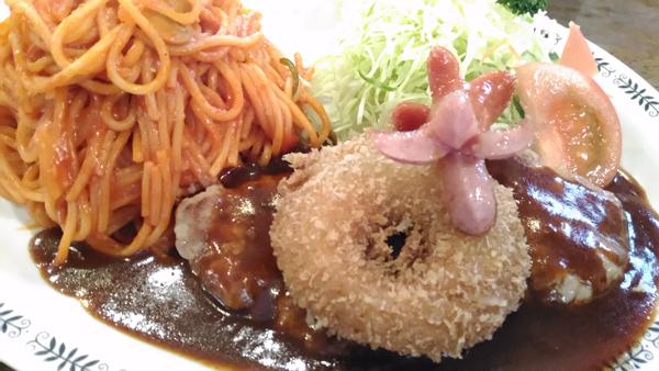三沢市街パシャ写真『洋食の王道 ナポリタン!】