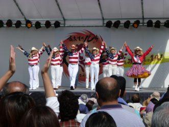 【カントリー&ウェスタンラインダンス CHAD<br>Blue Forest 三沢市日米友好カントリーハート】写真