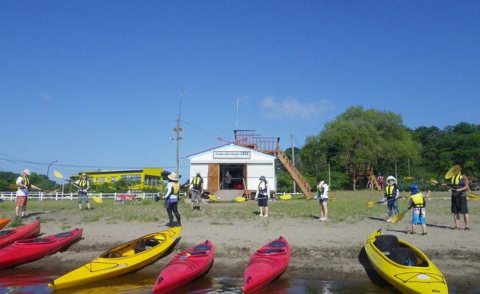 小川原湖カヤックラボ写真