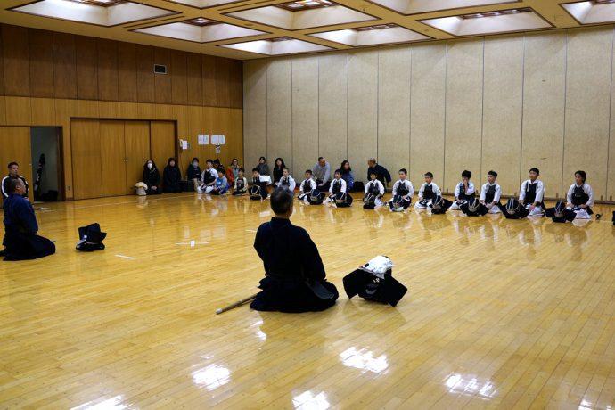 三沢少年剣道隊写真