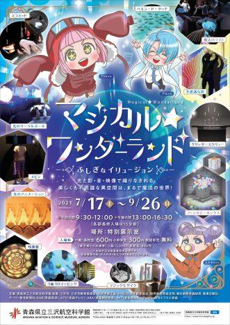 イベント『三沢航空科学館特別企画展「マジカル☆ワンダーランド~ふしぎなイリュージョン」】